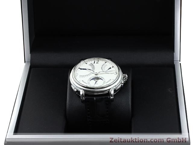 Used luxury watch Maurice Lacroix Masterpiece steel manual winding Kal. ML 104 ETA 6496-1 Ref. MP7078  | 140223 07