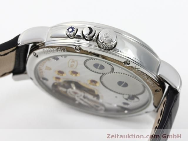 Used luxury watch Maurice Lacroix Masterpiece steel manual winding Kal. ML 104 ETA 6496-1 Ref. MP7078  | 140223 08