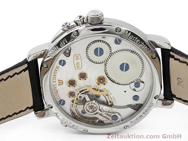Used luxury watch Maurice Lacroix Masterpiece steel manual winding Kal. ML 104 ETA 6496-1 Ref. MP7078  | 140223 09
