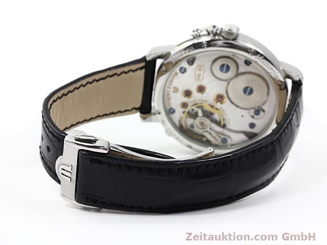 Used luxury watch Maurice Lacroix Masterpiece steel manual winding Kal. ML 104 ETA 6496-1 Ref. MP7078  | 140223 12