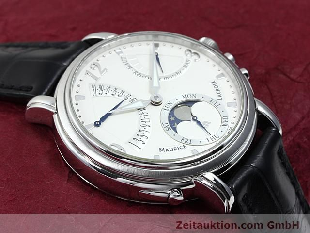 Used luxury watch Maurice Lacroix Masterpiece steel manual winding Kal. ML 104 ETA 6496-1 Ref. MP7078  | 140223 14