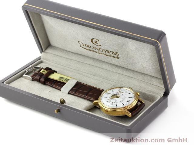 Used luxury watch Chronoswiss Lunar gold-plated manual winding Kal. Valj 7734 Ref. 34.300  | 140224 07