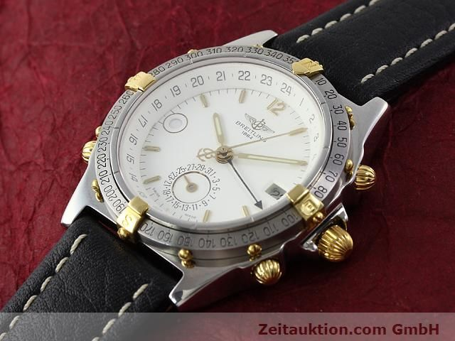 Used luxury watch Breitling Windrider gilt steel automatic Kal. ETA 2892-2 Ref. B15047  | 140225 01