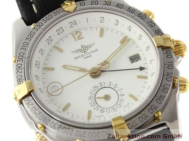 Used luxury watch Breitling Windrider gilt steel automatic Kal. ETA 2892-2 Ref. B15047  | 140225 02