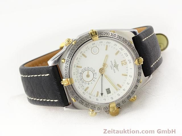 Used luxury watch Breitling Windrider gilt steel automatic Kal. ETA 2892-2 Ref. B15047  | 140225 03