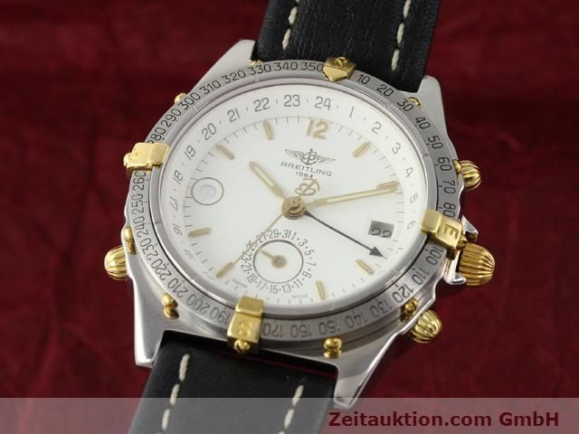 Used luxury watch Breitling Windrider gilt steel automatic Kal. ETA 2892-2 Ref. B15047  | 140225 04
