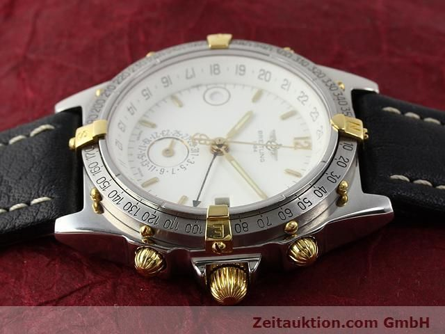 Used luxury watch Breitling Windrider gilt steel automatic Kal. ETA 2892-2 Ref. B15047  | 140225 05