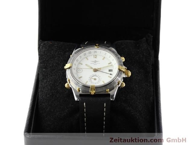 Used luxury watch Breitling Windrider gilt steel automatic Kal. ETA 2892-2 Ref. B15047  | 140225 07