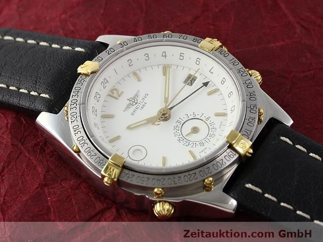 Used luxury watch Breitling Windrider gilt steel automatic Kal. ETA 2892-2 Ref. B15047  | 140225 12