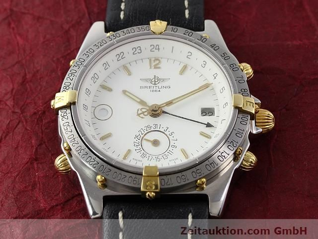 Used luxury watch Breitling Windrider gilt steel automatic Kal. ETA 2892-2 Ref. B15047  | 140225 13