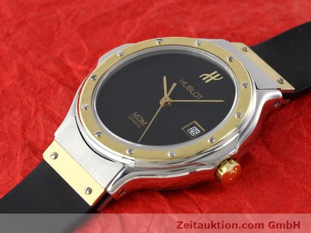 Used luxury watch Hublot MDM gilt steel quartz Kal. ETA 956.112  | 140226 01
