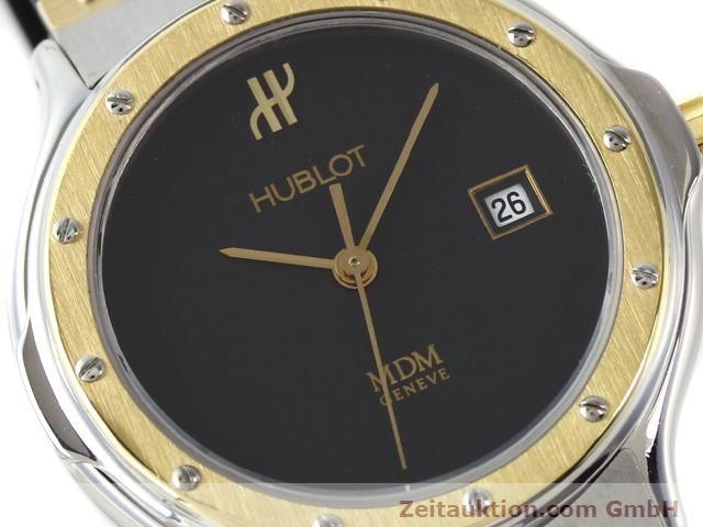 Used luxury watch Hublot MDM gilt steel quartz Kal. ETA 956.112  | 140226 02