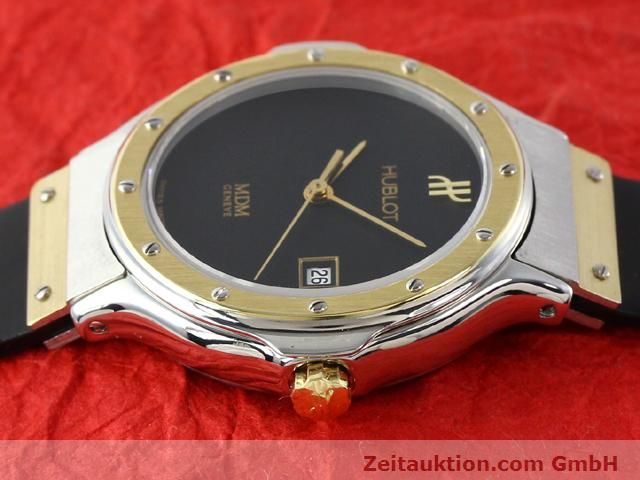 Used luxury watch Hublot MDM gilt steel quartz Kal. ETA 956.112  | 140226 05