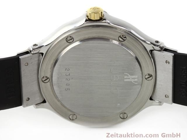 Used luxury watch Hublot MDM gilt steel quartz Kal. ETA 956.112  | 140226 09