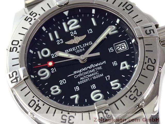 Used luxury watch Breitling Superocean steel automatic Ref. A17360  | 140227 02