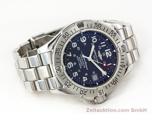 Used luxury watch Breitling Superocean steel automatic Ref. A17360  | 140227 03