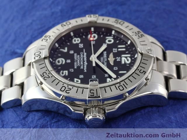 Used luxury watch Breitling Superocean steel automatic Ref. A17360  | 140227 05