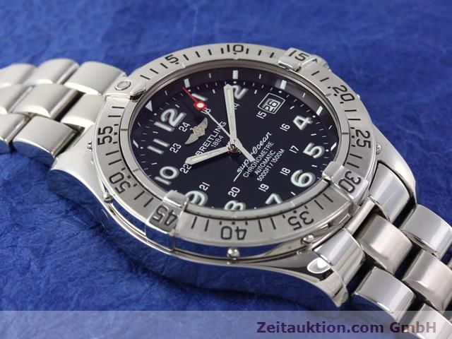 Used luxury watch Breitling Superocean steel automatic Ref. A17360  | 140227 17