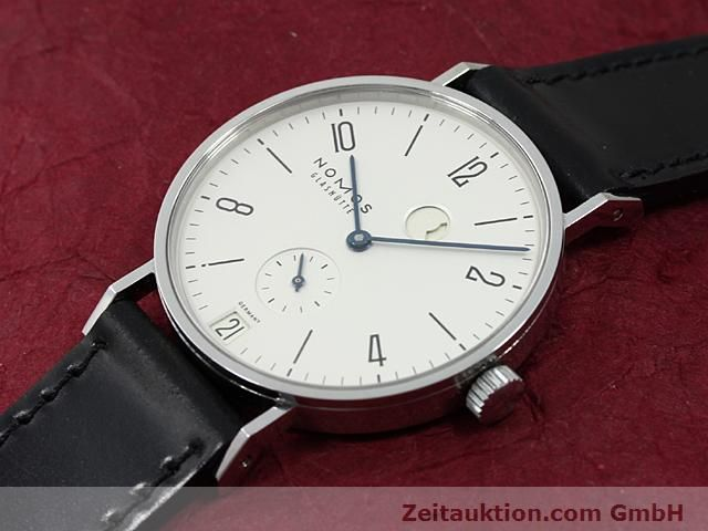 Used luxury watch Nomos Tangente steel manual winding Kal. 836  | 140231 01
