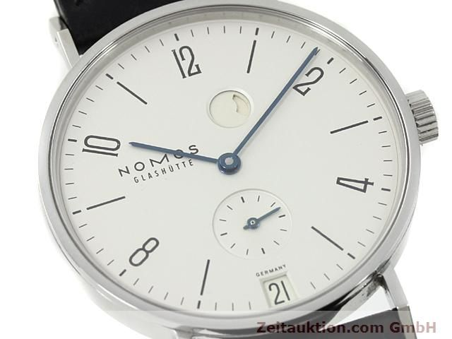 Used luxury watch Nomos Tangente steel manual winding Kal. 836  | 140231 02