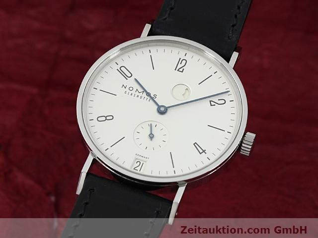 Used luxury watch Nomos Tangente steel manual winding Kal. 836  | 140231 04