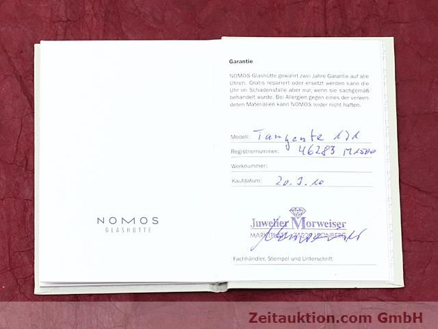 Used luxury watch Nomos Tangente steel manual winding Kal. 836  | 140231 08