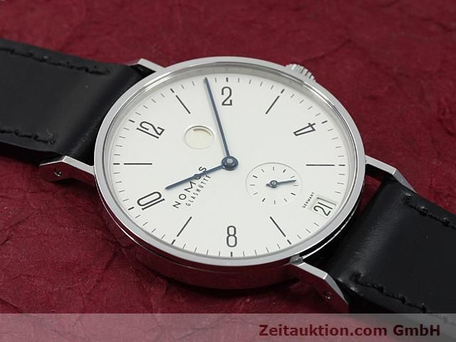 Used luxury watch Nomos Tangente steel manual winding Kal. 836  | 140231 14