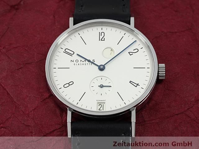 Used luxury watch Nomos Tangente steel manual winding Kal. 836  | 140231 15