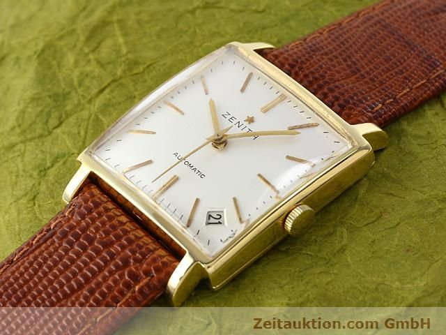 montre de luxe d occasion Zenith * or 18 ct automatique Kal. PC 2542 Ref. 381A245  | 140232 01