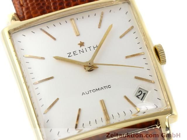 montre de luxe d occasion Zenith * or 18 ct automatique Kal. PC 2542 Ref. 381A245  | 140232 02