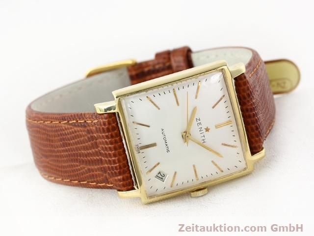 montre de luxe d occasion Zenith * or 18 ct automatique Kal. PC 2542 Ref. 381A245  | 140232 03