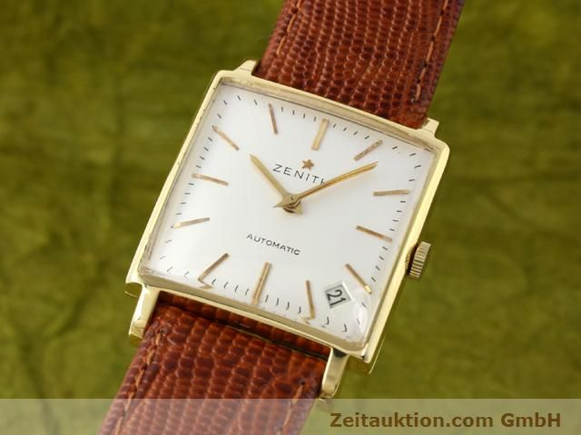 montre de luxe d occasion Zenith * or 18 ct automatique Kal. PC 2542 Ref. 381A245  | 140232 04