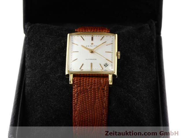 montre de luxe d occasion Zenith * or 18 ct automatique Kal. PC 2542 Ref. 381A245  | 140232 07