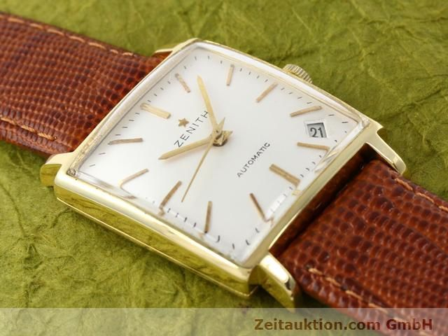 montre de luxe d occasion Zenith * or 18 ct automatique Kal. PC 2542 Ref. 381A245  | 140232 12