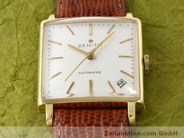 montre de luxe d occasion Zenith * or 18 ct automatique Kal. PC 2542 Ref. 381A245  | 140232 13