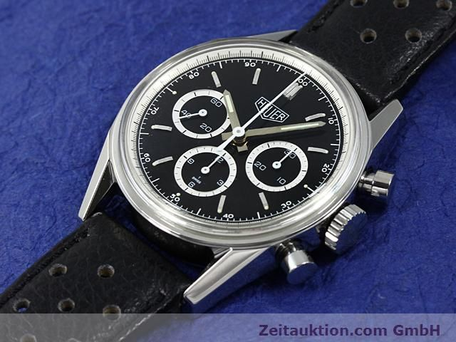 Used luxury watch Tag Heuer Carrera steel manual winding Kal. LWO 1873 Ref. CS3113  | 140233 01