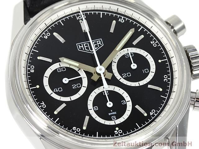 Used luxury watch Tag Heuer Carrera steel manual winding Kal. LWO 1873 Ref. CS3113  | 140233 02