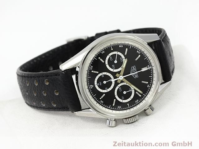 Used luxury watch Tag Heuer Carrera steel manual winding Kal. LWO 1873 Ref. CS3113  | 140233 03