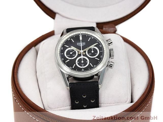 Used luxury watch Tag Heuer Carrera steel manual winding Kal. LWO 1873 Ref. CS3113  | 140233 07