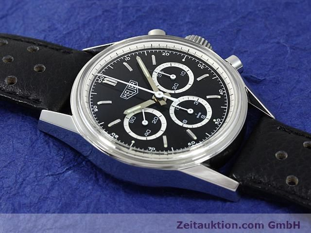 Used luxury watch Tag Heuer Carrera steel manual winding Kal. LWO 1873 Ref. CS3113  | 140233 13
