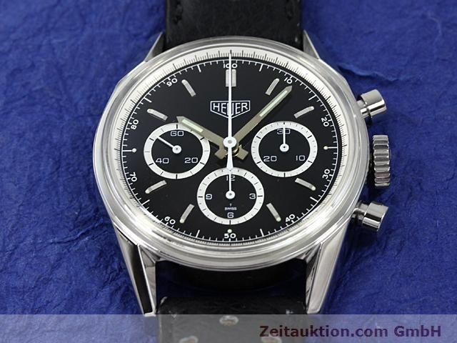 Used luxury watch Tag Heuer Carrera steel manual winding Kal. LWO 1873 Ref. CS3113  | 140233 14