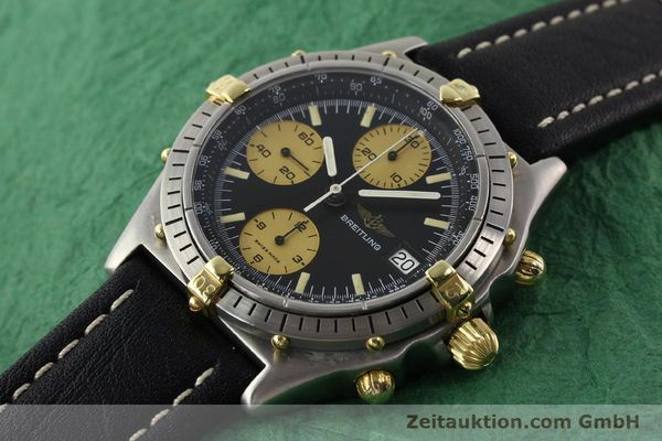 Used luxury watch Breitling Chronomat chronograph gilt steel automatic Kal. VAL 7750 Ref. 81950A  | 140234 01