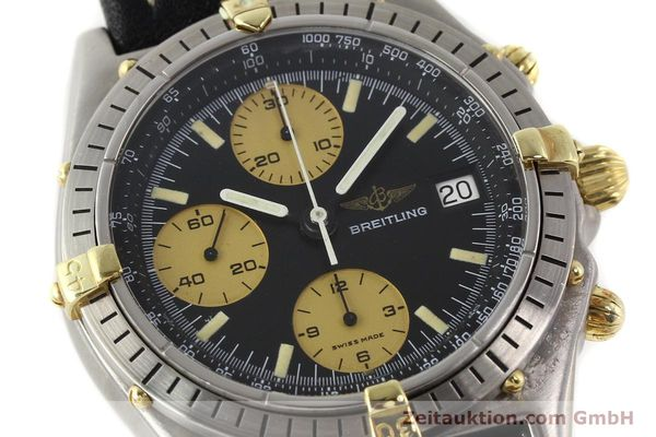 Used luxury watch Breitling Chronomat chronograph gilt steel automatic Kal. VAL 7750 Ref. 81950A  | 140234 02