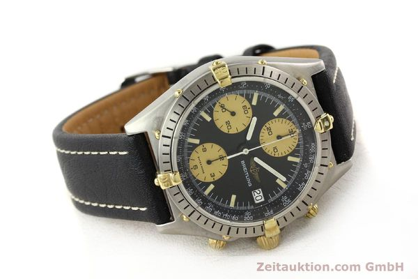 Used luxury watch Breitling Chronomat chronograph gilt steel automatic Kal. VAL 7750 Ref. 81950A  | 140234 03