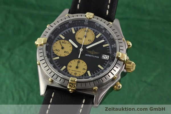 Used luxury watch Breitling Chronomat chronograph gilt steel automatic Kal. VAL 7750 Ref. 81950A  | 140234 04