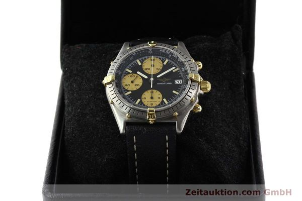 Used luxury watch Breitling Chronomat chronograph gilt steel automatic Kal. VAL 7750 Ref. 81950A  | 140234 07