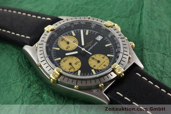 Used luxury watch Breitling Chronomat chronograph gilt steel automatic Kal. VAL 7750 Ref. 81950A  | 140234 13