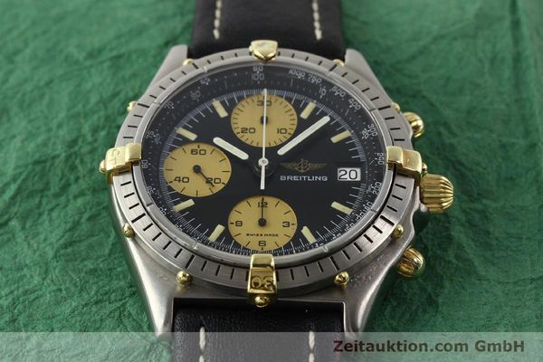 Used luxury watch Breitling Chronomat chronograph gilt steel automatic Kal. VAL 7750 Ref. 81950A  | 140234 14