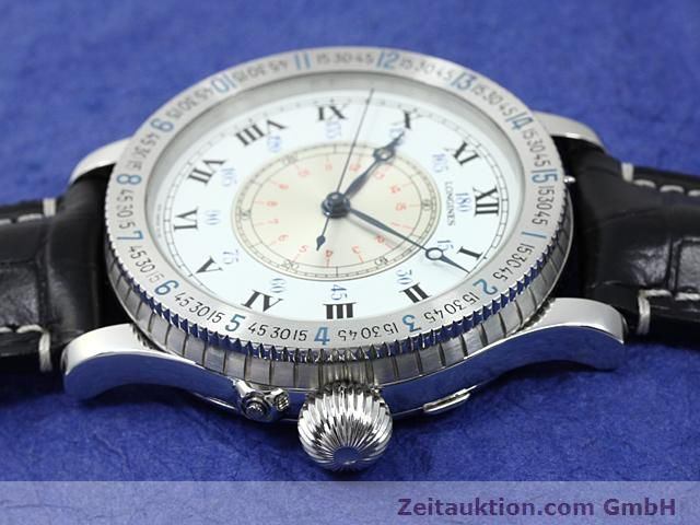Used luxury watch Longines Lindbergh Stundenwinkel steel manual winding Kal. L 878.4 Ref. 876.5238  | 140236 05