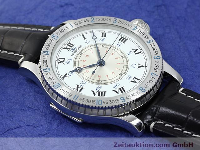 Used luxury watch Longines Lindbergh Stundenwinkel steel manual winding Kal. L 878.4 Ref. 876.5238  | 140236 14
